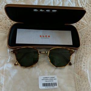 Garret Leight folding sunglasses